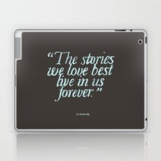 Harry Potter Quote #2 Laptop & iPad Skin