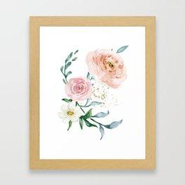Rose Arrangement No. 1 Framed Art Print