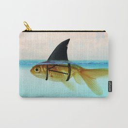 goldfish with a shark fin Carry-All Pouch