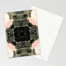 Chrysanthemum Blooms Photographic Pattern #1 Stationery Cards