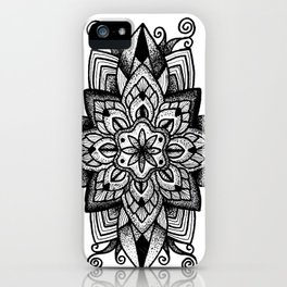 Mandala Curley iPhone Case