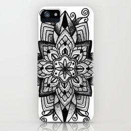 Mandala Curley iPhone Case