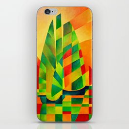 Chinese Junks, Sunset, Sails and Shadows iPhone Skin