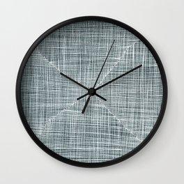Ink Weaves: Alexandrite Wall Clock