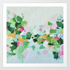 Mint Julep Art Print