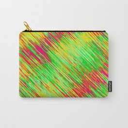 green red yellow geometric graffiti painting texture abstract background Carry-All Pouch