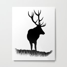 Monarch Of The Park Metal Print