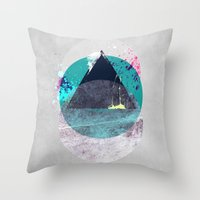 minimalism Throw Pillows featuring Minimalism 10 by Mareike Böhmer