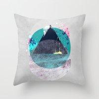 minimalism Throw Pillows featuring Minimalism 10 by Mareike Böhmer