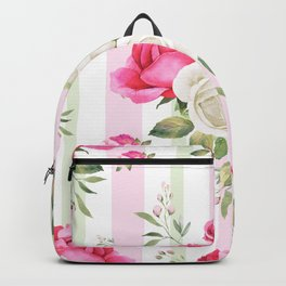 Belle époque flower power Backpack