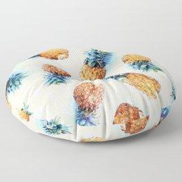 Pineapples + Crystals  Floor Pillow