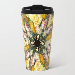 Flemish Floral Mandala 5 Travel Mug