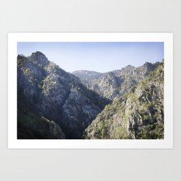 Soaring Mountains Art Print