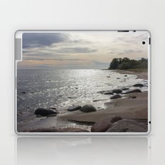Seascape with stones Laptop & iPad Skin