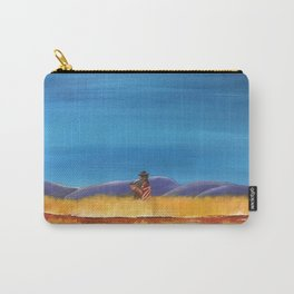 Gaucho at the Blood River Carry-All Pouch