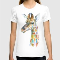 kindle T-shirts featuring Giraffe by Brandon Keehner