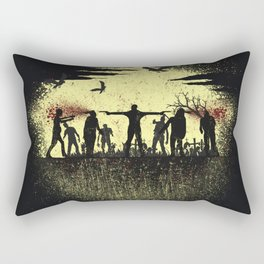 Zombie Shooter Rectangular Pillow