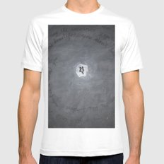 Twins Mens Fitted Tee SMALL White