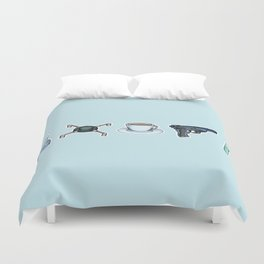 FitzSimmons Objects Duvet Cover