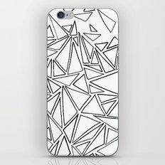 B/W Triangle iPhone & iPod Skin