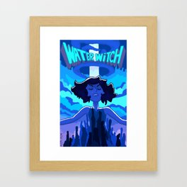 Water Witch Framed Art Print