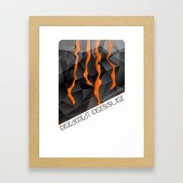 Breakbeat Pressure Framed Art Print