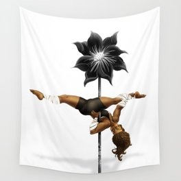 Pennys Shuriken Pole Dance Wall Tapestry