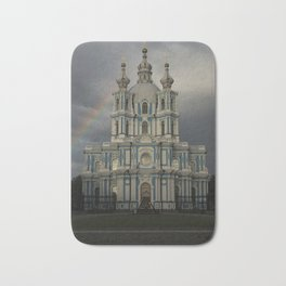 Postcards from Petersburg - Smolny Cathedal Bath Mat