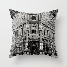 Leadenhall Market Art Throw Pillow