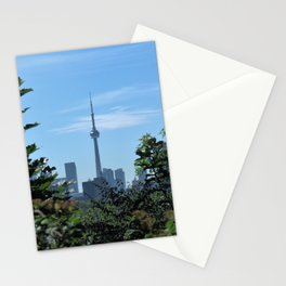 CN Tower from Casa Loma Stationery Cards