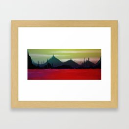 Red Sea Framed Art Print