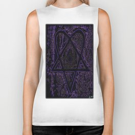 Nightmare Heartagram Biker Tank