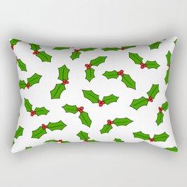 Holly Pattern Rectangular Pillow