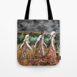 Maidens from the deep forest Tote Bag