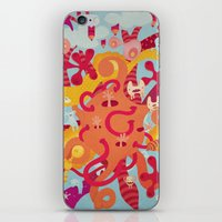 mad iPhone & iPod Skins featuring MAD by Piktorama