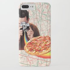 pizza obsession iPhone 7 Plus Slim Case