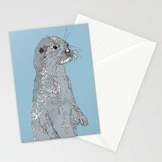 Otter Stationery Cards