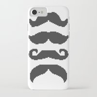 moustache iPhone & iPod Cases featuring Moustache by Jake  Williams