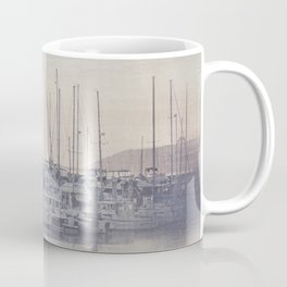 Sunset at the Marina Coffee Mug