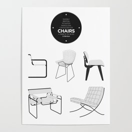 CHAIRS - A tribute to seats (special edition) Poster
