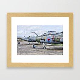 Buccaneer strike aircraft Framed Art Print