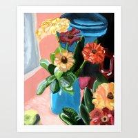 Floral Remedies Art Print