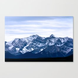 Rocky Mountain Blue  Canvas Print