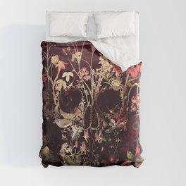 Bloom Skull Duvet Cover