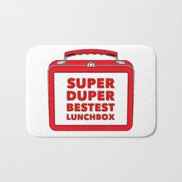 Super Duper Bestest Lunchbox Bath Mat
