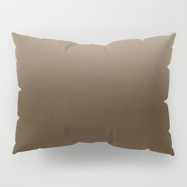 Brown Ombre Pillow Sham