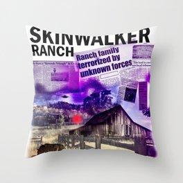 Skinwalker Ranch Print Throw Pillow