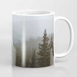Snowy Forks Forest Coffee Mug