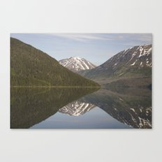 Reflections: Hourglass Canvas Print