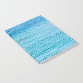 Ten Men One Wave Notebook